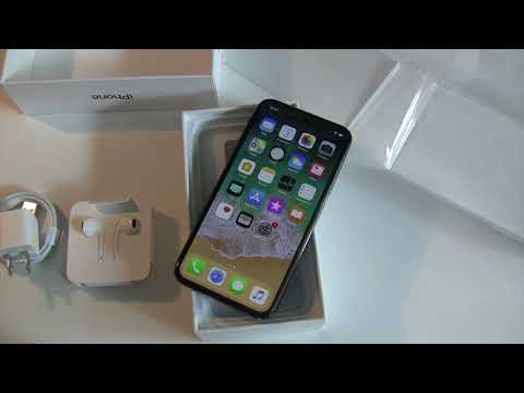 iPhone X Unboxing & Hands On