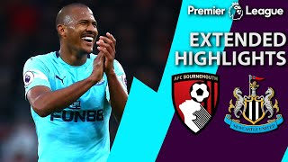 Bournemouth v. Newcastle | PREMIER LEAGUE EXTENDED HIGHLIGHTS | 3/16/19 | NBC Sports