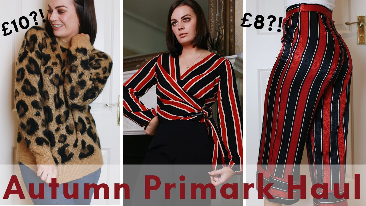 PRIMARK HAUL + TRY ON AUTUMN/WINTER 2018 | ALL UNDER £13!