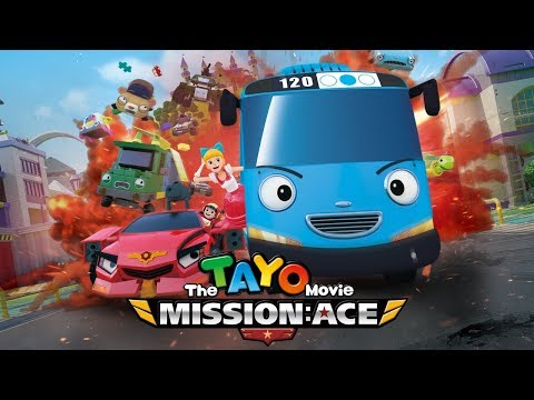 Tayo  misi penyelamatan ace l tayo movie bahasa indonesia l tayo bus kecil