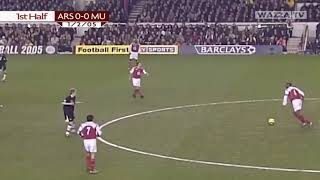 Arsenal V Manchester United   2004-05    2-4