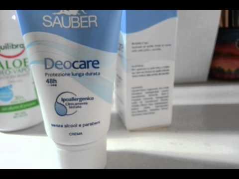 Deodoranti senza alluminio, quali scegliere
