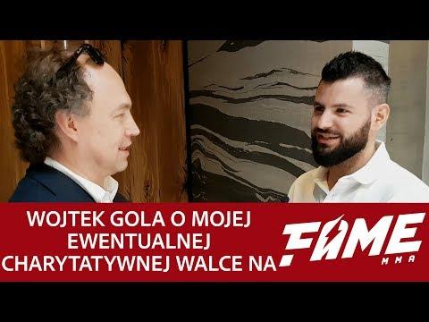 Wojtek Gola o mojej ewentualnej charytatywnej walce na FAME MMA
