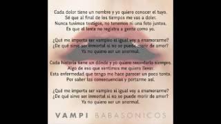 Babasonicos - Vampi - 2016 Single - Nd Difusiones