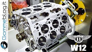 Bentley W12 Engine - PRODUCTION ASSEMBLY