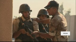 A rare glimpse into France's training of Iraqi soldiers