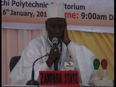 2015 Nigerian Musabaqa: Zamfara Tangeem. Male Participant