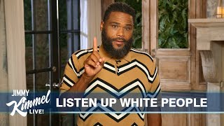 Anthony Anderson's Guest Host Monologue on Jimmy Kimmel Live