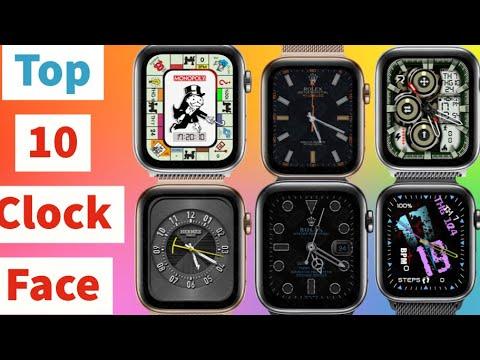 Top 10 Clock Face For Apple Watch Beautiful   Clockology #2