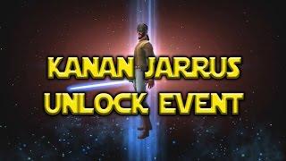 Star Wars: Galaxy Of Heroes - Kanan Jarrus Event Unlocked