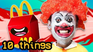 10 Things Not To Do at MCDONALDS 3..