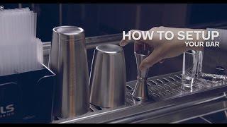 How to Set Up a Cocktail Bar - Bols Bartending Academy