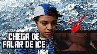 REAGINDO A Leozin   Chega De Falar De Ice (Clipe Oficial)