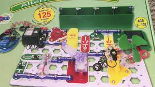 Snap Circuits Green (Alternative Energy) Overview