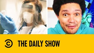 Moderna's COVID Vaccine Boasts Nearly 95% Protection | The Daily Show With Trevor Noah