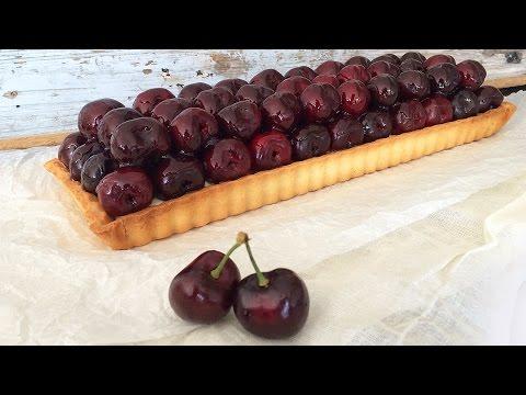 CHERRY TART RECIPE How To Cook That Ann Reardon Dessert