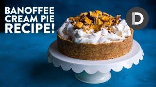 How to make… BANOFFEE PIE! Caramel Cream Banana Dessert!