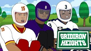 Russell WiIson, Lamar Jackson Battle for MVP Go-Kart Style | Gridiron Heights S4E13