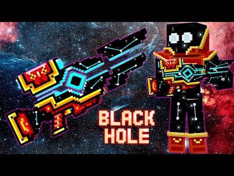 Pixel Gun 3D - Black Hole - New Gold Battle Pass Weapon Gameplay