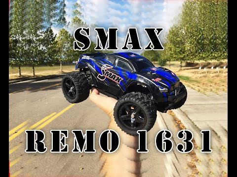 REMO 1631 1/16 SMAX Shortcourse Truck Review