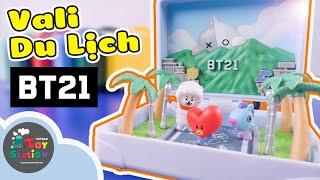 Những chuyến du lịch tí hon trong Vali BT21 World Tour ToyStation 460
