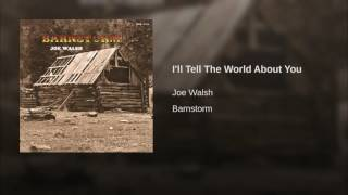I'll Tell The World About You