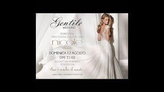 Fashion show Gentile Wedding preview collezione sposa ,sposo e cerimonia 2019. Monopoli Bari.