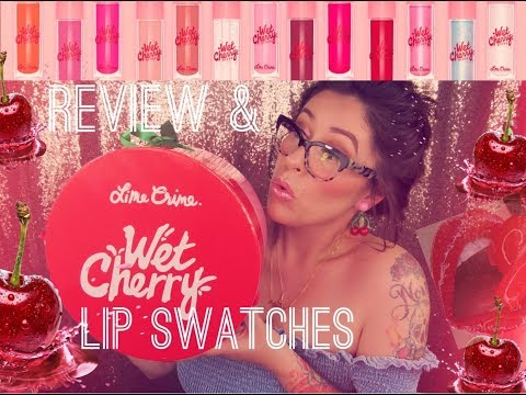 Wet Cherry Lip Gloss by Lime Crime #17