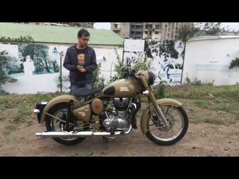Autotracker - Royal Enfield Classic 500 Desert Storm - Indian Spec - Walkaround