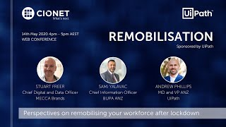 Remobilisation – Strategies to return to the 'New Normal' – CIONET Australia Web Conference