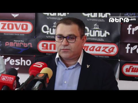 The press conference of Narek Malyan on the activities of