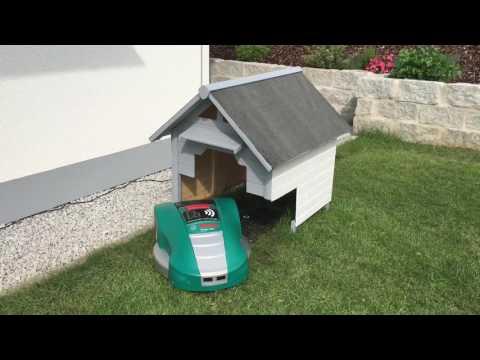 Bosch Indego 1000 Connect Garage Haus Rasenroboter Rasenmäher