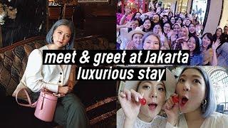 Meet & Greet at Indonesia 🇮🇩❤️, Hair Salon at Jakarta, Luxurious Stay at Hotel Gunawarman | DTV #84