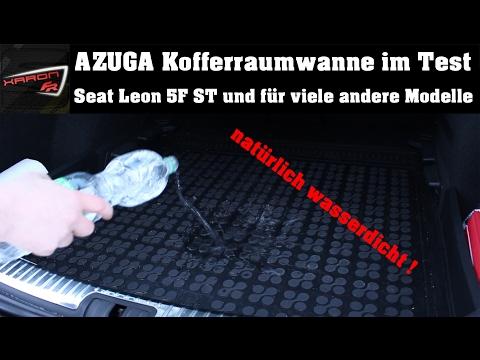 AZUGA Kofferraumwanne - Seat Leon 5F ST und weitere Modelle (VW, BMW, AUDI)