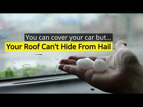 Hail Storms in Texas damage thousands of roofs every year. If you were in the wake of a hail storm, have Alden Roofing perform a free property inspection to check for any storm damages before you file a claim with your insurance.