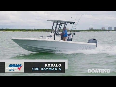 Robalo 226 Cayman video