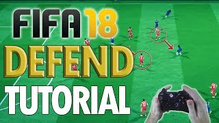 Fifa 18 ADVANCED DEFENDING TUTORIAL – How To Defend Effectively (In-Depth Guide To Defending)