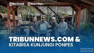 Jelang Lebaran, Tribunnews.com dan KitaBisa Berbagi ke Pondok Pesantren di Bojonggede Bogor