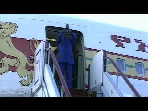 Язов. Встреча с М. Х. Мариамом, генсеком ЦК Рабочей партии и президентом Эфиопии  26.07.1988