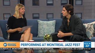 Tamino Interview   Breakfast Tv, Canada