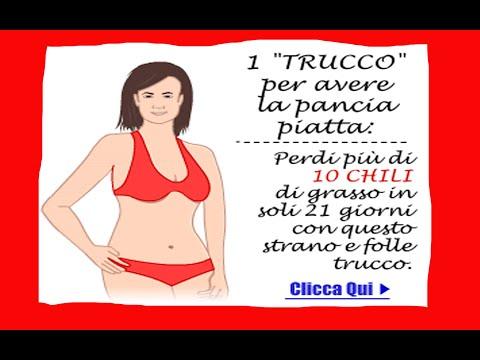 Dieta da uno stomaco in brevi termini