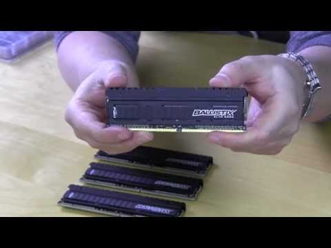 Crucial Ballistix Elite DDR4 Memory Unboxing & Overview