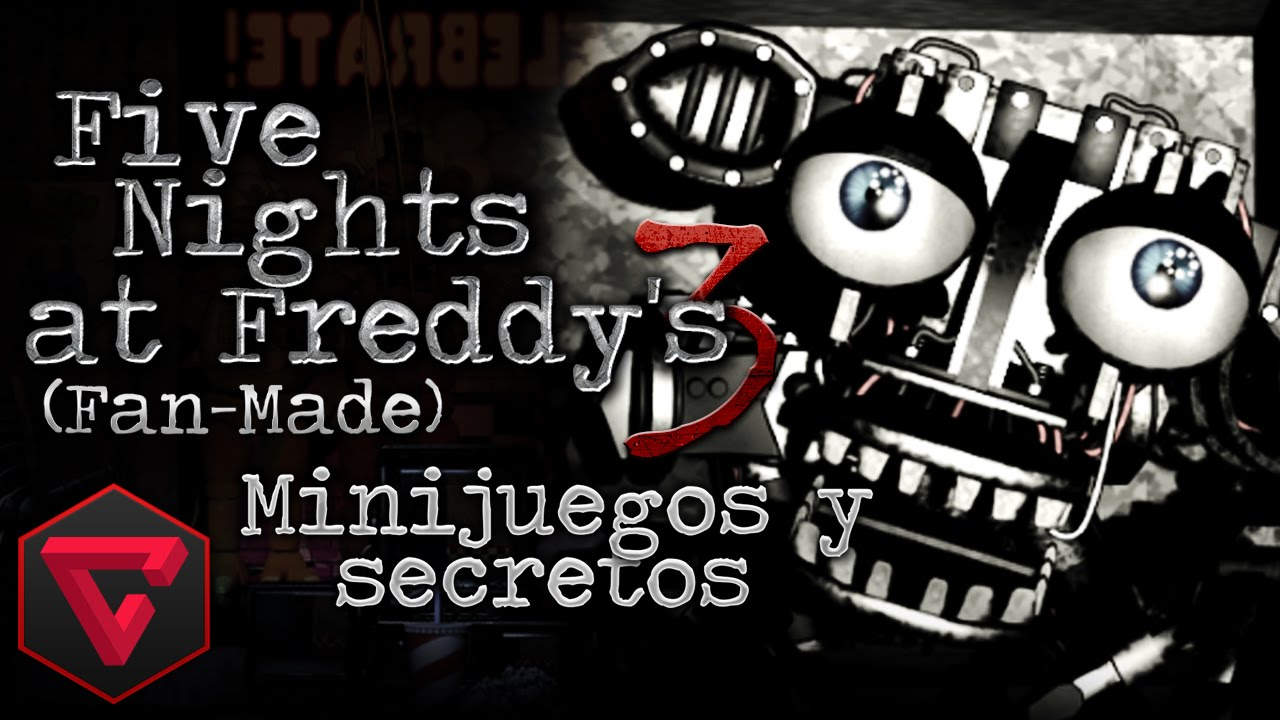 Descargar FIVE NIGHTS AT FREDDY'S 3: ¡NUEVO ANIMATRÓNICO! & MINIJUEGOS SECRETOS (Fan-Made) LIVE para celular #Android