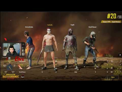 [PUBG Mobile] Squad With A.E USA - Weigh Team 18 Kill But Weak
