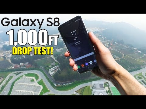 Samsung Galaxy S8 Drop Test From 1000 Feet!! | Durability REVIEW Mp3