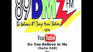 89 DMZ   Do You Believe In Me (radio Edit) By Eric Gadd