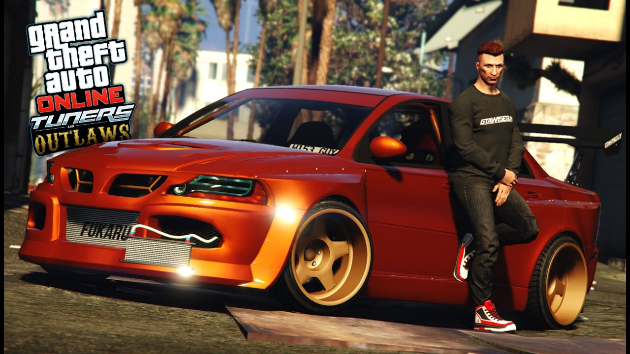 GTA 5 ENTIRELY CUSTOM CAR! (Tuners and Outlaws) - vTomb