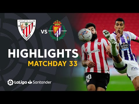 ⚽ HIGHLIGHTS I Athletic Club 2-2 Real Valladolid I LaLiga Matchday 33