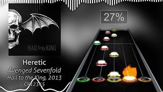 Avenged Sevenfold | Heretic (+Lyrics) | Clone Hero Chart Preview