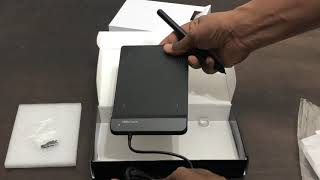 Unboxing of xp pen star g430s drawing tablet and How to use it.